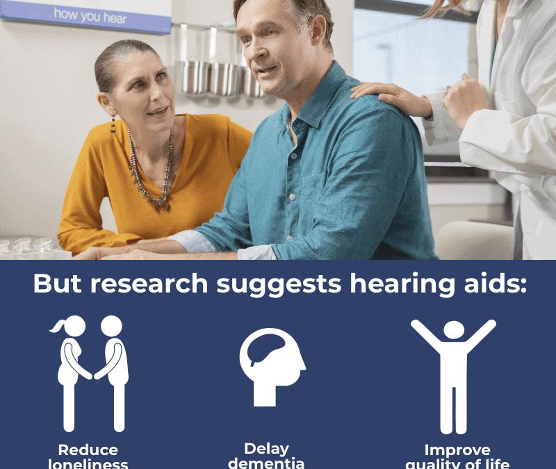 Hearing Aids Cut Risk of Dementia